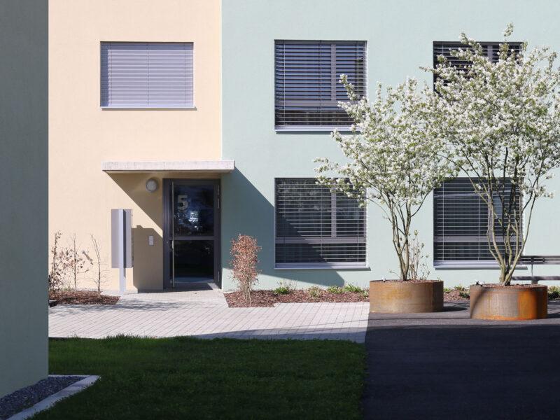 farbkonzept, Wohnüberbauung, esterli, staufen
