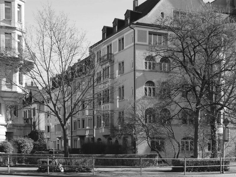 Farbkonzept, Fassade, Paulstrasse, Zürich