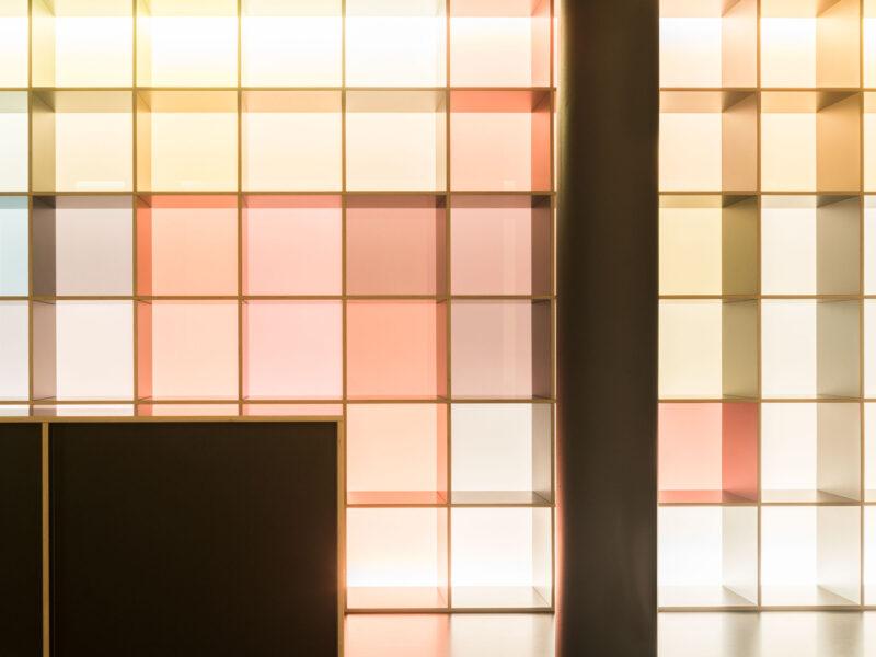 Gesundheitszentrum, dielsdorf, farbkonzept