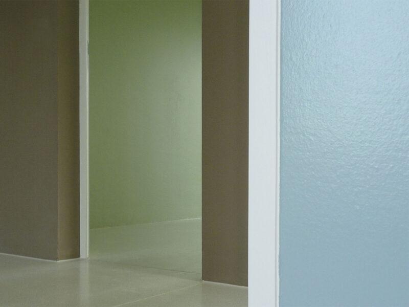 Farbkonzept, Einfamilienhaus