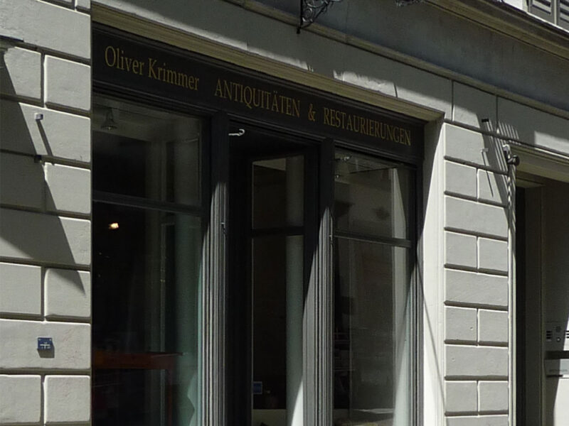 Farbkonzept, Kirchgasse, Fassade