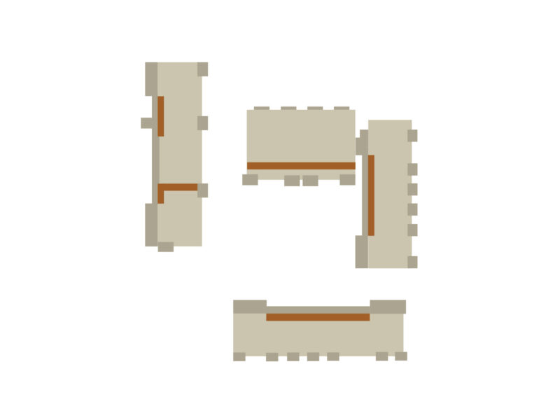 Farbkonzept, zollikon, Fassade, Treppenhäuser, Farbgestaltung